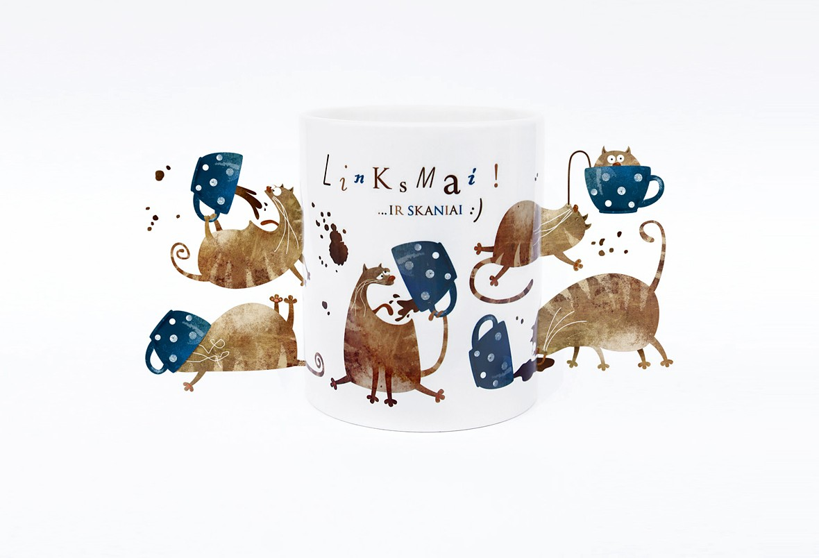 Mugs with cats