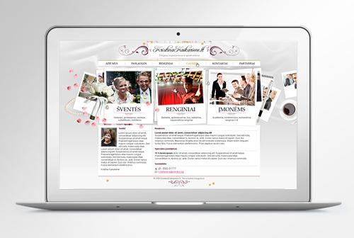 Kristina Kaikariene personal website