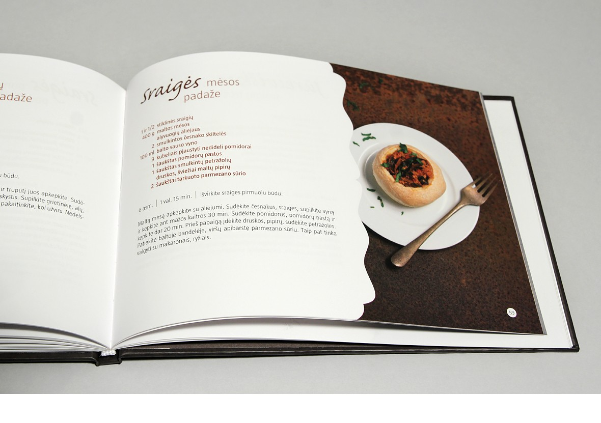 Cookbook Recipes from snails