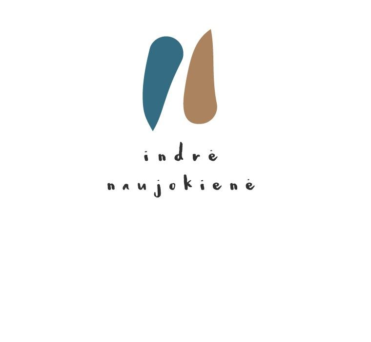 Indrės Naujokienės logotipas