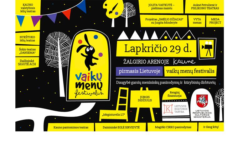 """Vaikų menu festivalis"" - facebook cover"