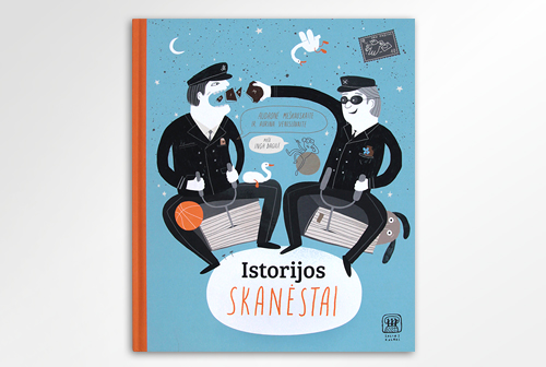 "Illustrations and design of ""Istorijos skanėstai"""