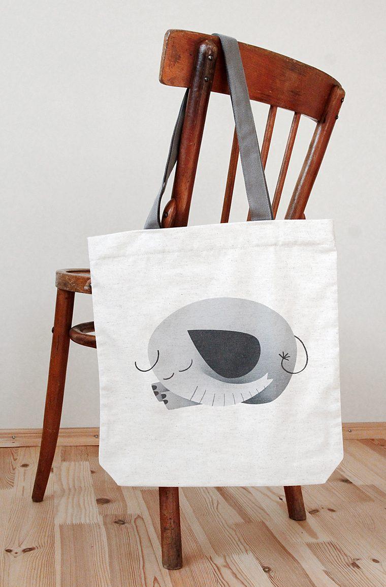 Large tote bag - Medziaginis krepsys